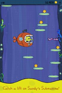 Doodle Jump SpongeBob - screenshot thumbnail