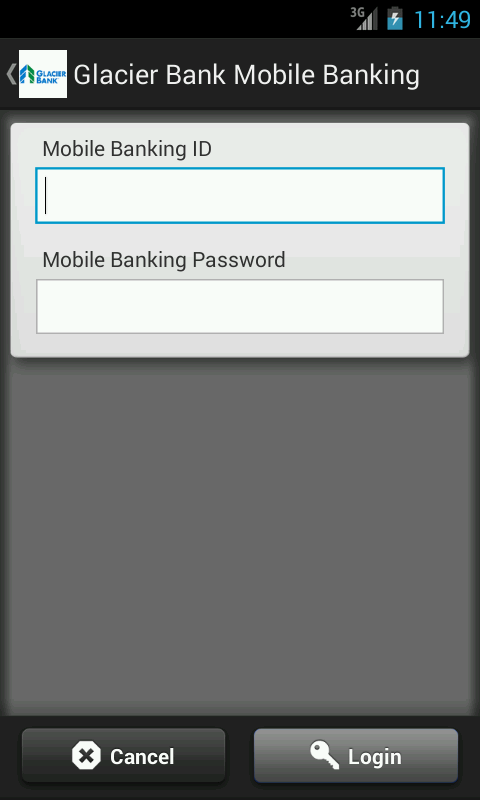 Glacier Bank Mobile Banking - screenshot