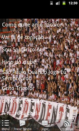 São Paulo - Músicas da Torcida