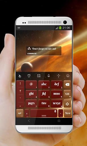 玩個人化App|Orange Dust TouchPal Theme免費|APP試玩