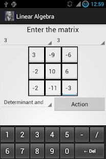 Linear Algebra Course App - Google Play Android 應用程式