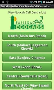 Fazilka Ecocabs- screenshot thumbnail