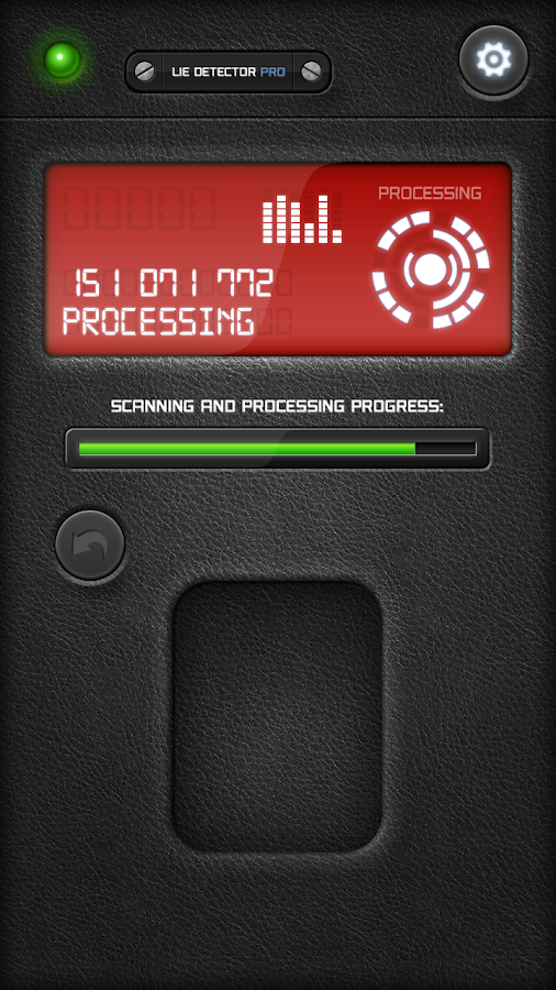 Fingerprint Lie Detector Free - screenshot