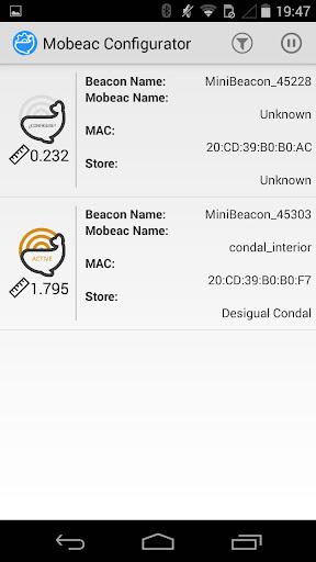 Mobeac Beacon Configurator