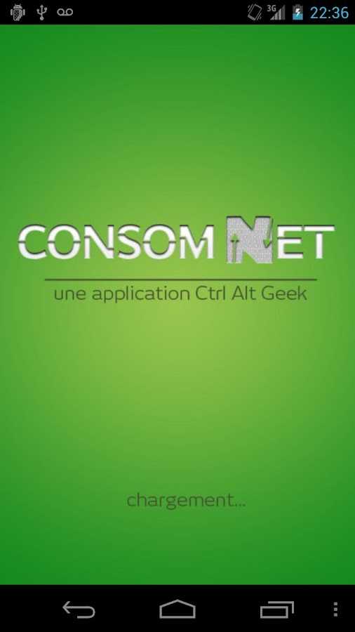 Consom Net– Capture d'écran