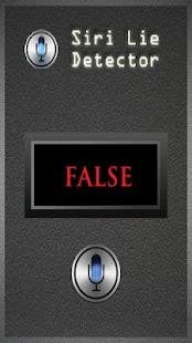 Siri Lie Detector- screenshot thumbnail