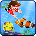 Kids Fishing Free games icon