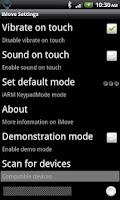 Screenshot of iMove