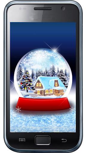 Application snow globe