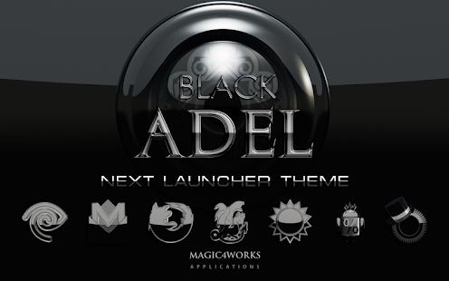 Next Launcher Theme Adel