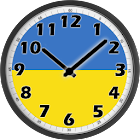 Ukraine Clock icon