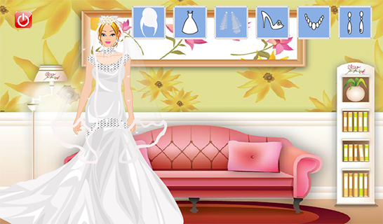 Bride Girl Dress Up - screenshot