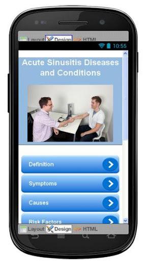 Acute Sinusitis Information