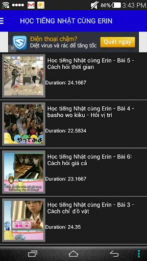 Học Tiếng Nhật - Video Online