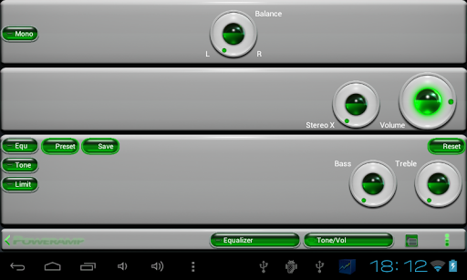 【免費個人化App】poweramp skin green 3d-APP點子