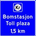 Norske bompengeavgifter logo