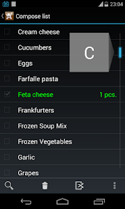 Weekly Shopping List screenshot 2