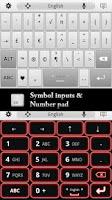 Screenshot of Super Keyboard Pro