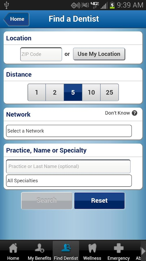 United Concordia Dental Mobile - screenshot