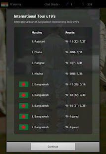 Cricket Player Manager - screenshot thumbnail