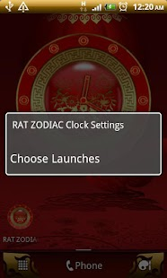RAT - Chinese Zodiac Clock - screenshot thumbnail