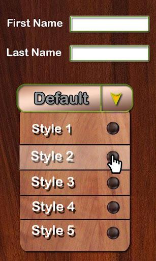 玩免費個人化APP|下載LED Name Live wallpaper app不用錢|硬是要APP