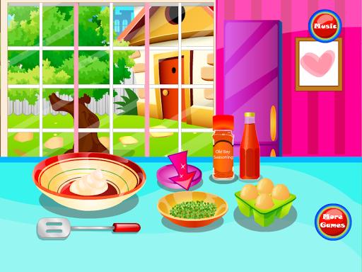 螃蟹烹飪遊戲