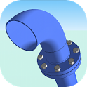 Pipe Joint Fittings Flange icon
