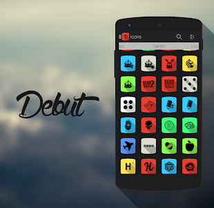 Debut - Icon Pack v1.1.2
