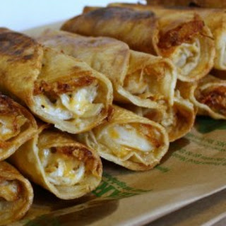 Fried Chicken Rollups
