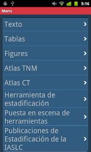 IASLC Staging Atlas -Spanish - screenshot thumbnail