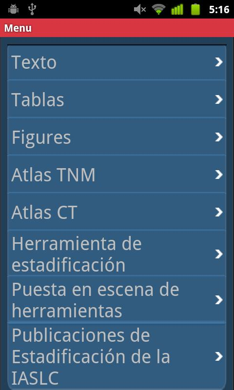 IASLC Staging Atlas -Spanish - screenshot