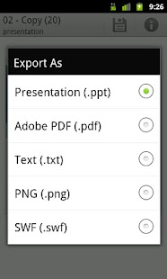 GDocs Export - screenshot thumbnail