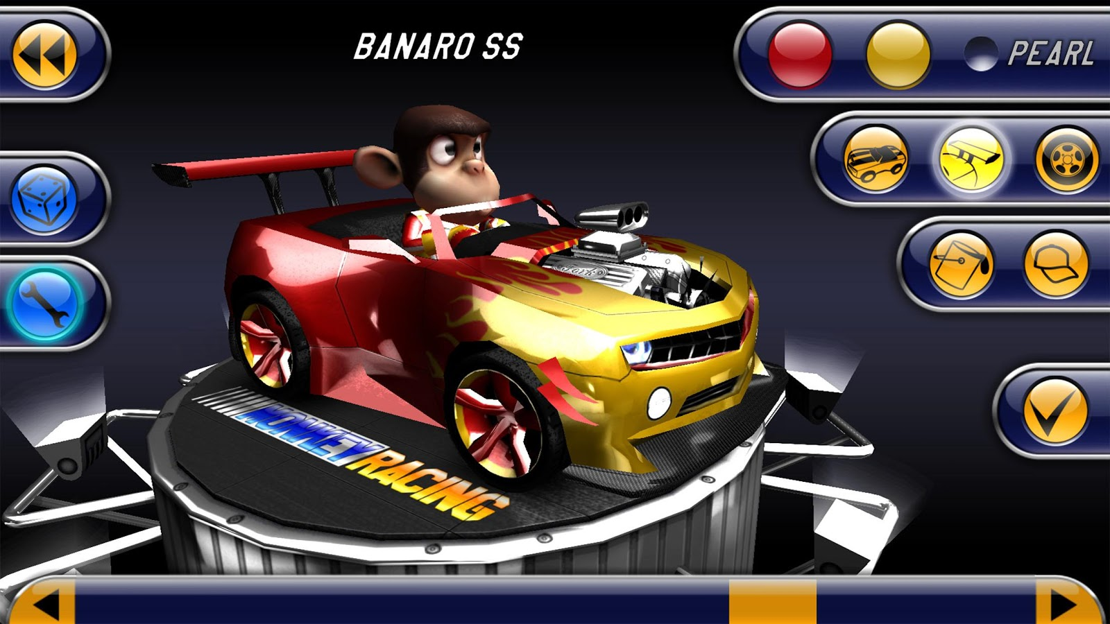 Monkey Racing Free- screenshot