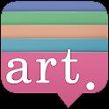 감성비 미술학원 icon