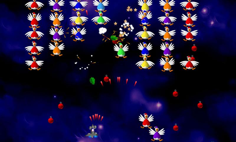 Chicken Invaders 2 Xmas- screenshot