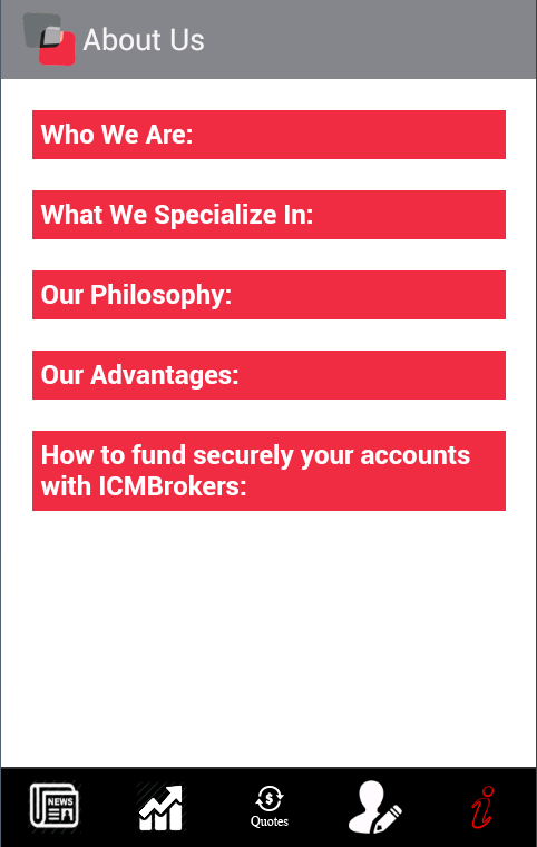 ICM Brokers- screenshot