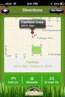 Fairfield Iowa- screenshot thumbnail