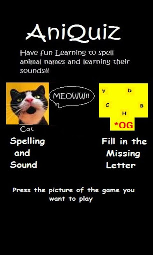 AniQuiz Sounds and Spelling