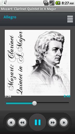Mozart Clarinet Quintet in A