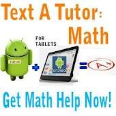 Text A Tutor Math -For Tablets