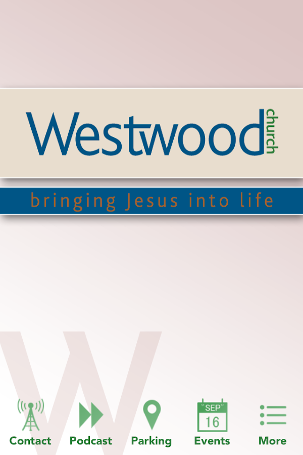 Westwood Church- screenshot