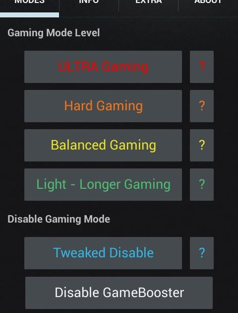 Image Result For Gaming Mode Androida
