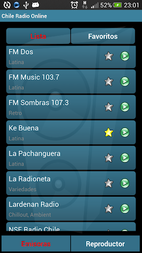 Chile Radio Online