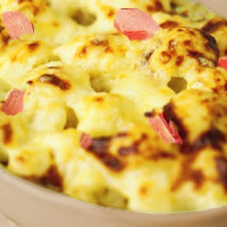 Cauliflower And Ham Au Gratin