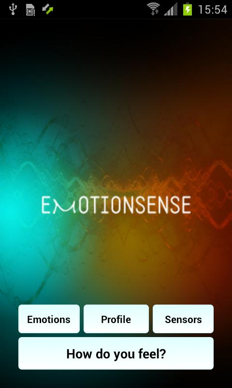Emotion Sense - screenshot