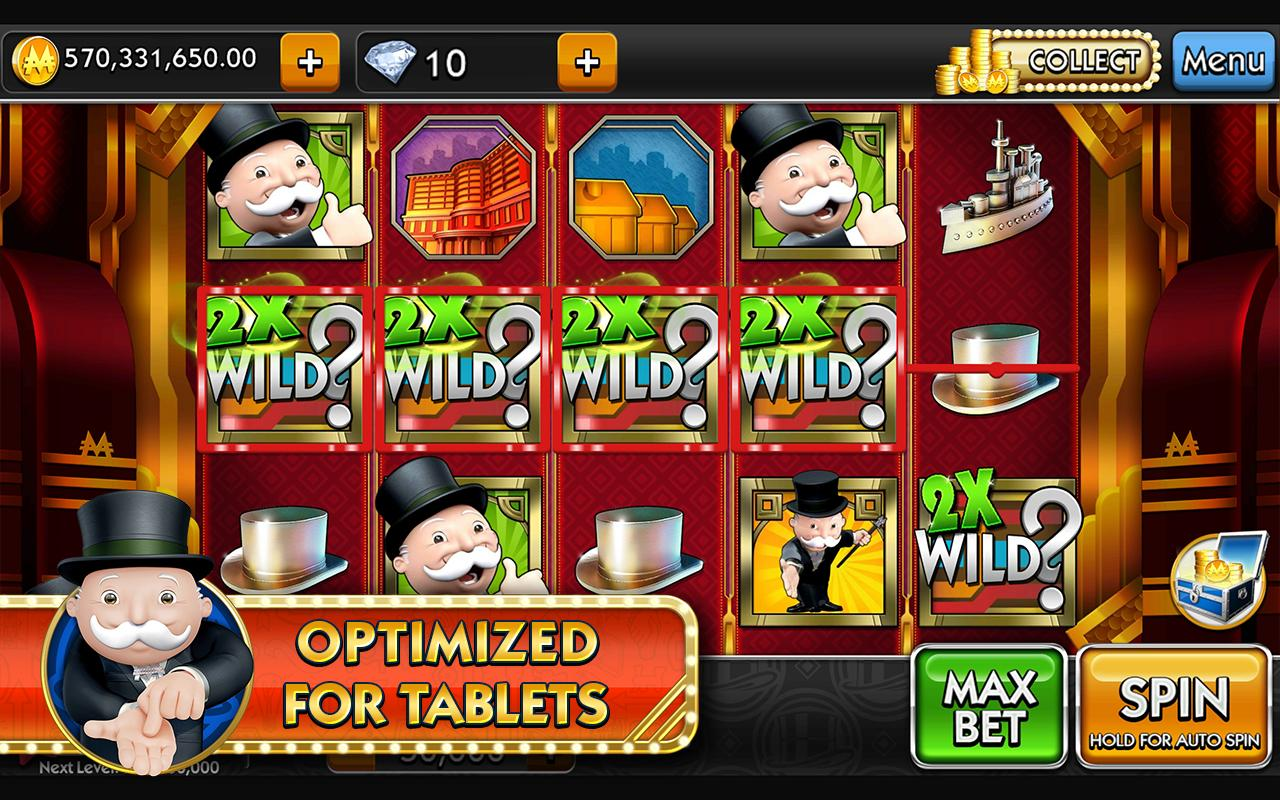 MONOPOLY Slots Screenshots