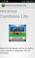 Screenshot of Train Schedule Lite Portugal
