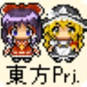 Touhou Project Character Walk1 logo