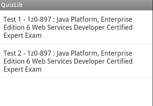 1z0-897 Web Services Exam